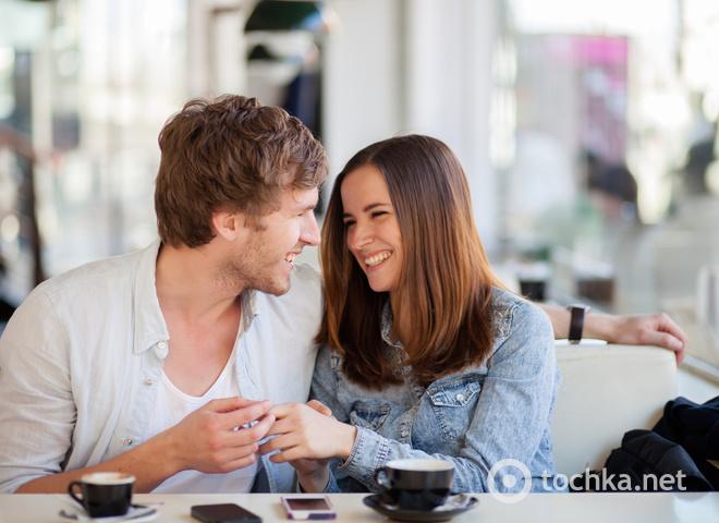 Пара, свидание, общение, диалог, флирт