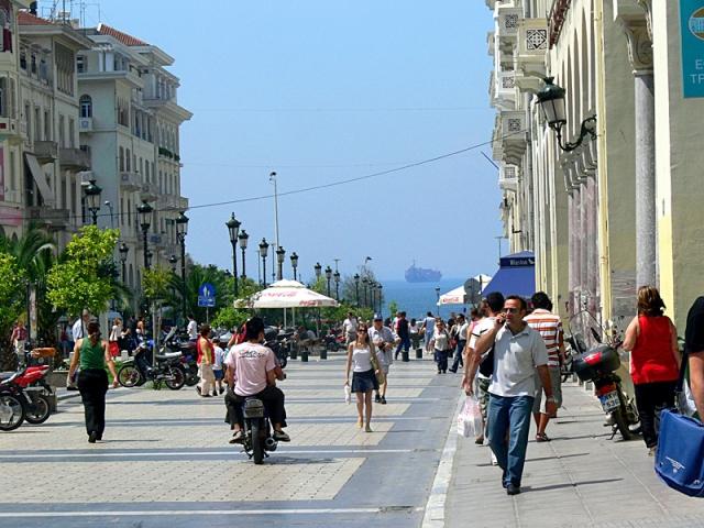 Достопримечательности Салоники: Площадь Аристотеля