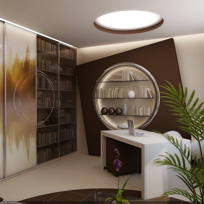 Квартира в клубном стиле