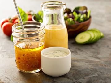 3 простих рецепта заправки для салатів