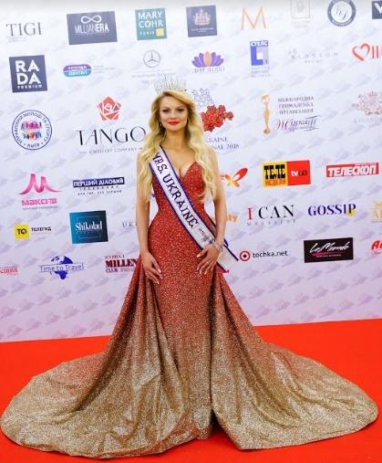 Mrs. Ukraine International 2018