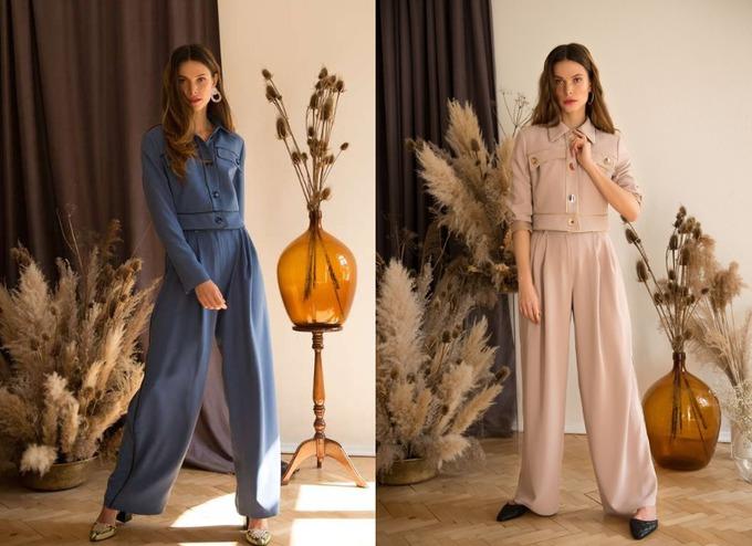 Женские брючные костюмы в коллекции украинского бренда Tattié