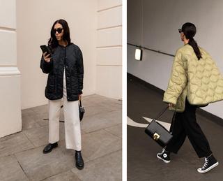 Модные стеганые куртки осень-зима 2021/22
