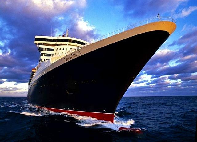 5 найбільш романтичних лайнерів: лайнер Queen Mary 2
