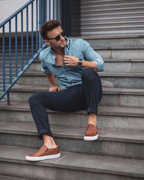 Летняя мужская обувь 2019