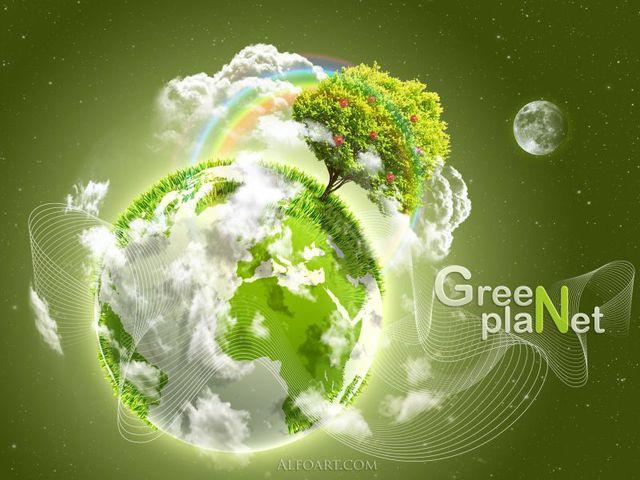 Открытка в День окружающей среды
