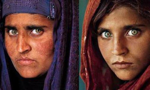 """В Пакистане арестована знаменитая """"афганская девочка"""" с обложки National Geographic"""