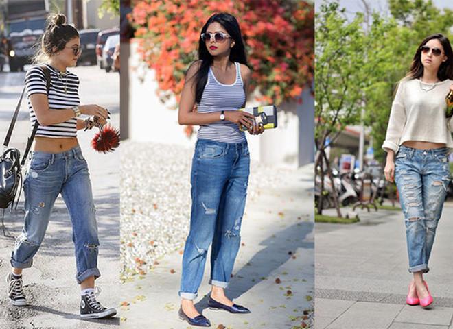 Рвані джинси: як і з чим носити