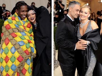 Самые модные звездные пары на Met Gala 2021
