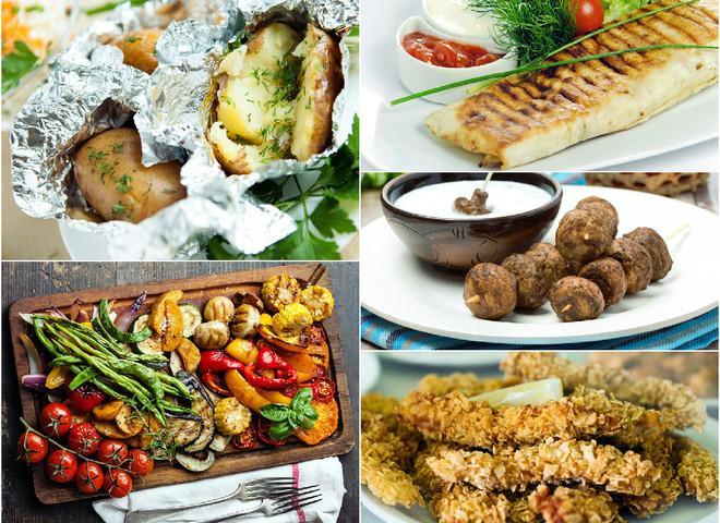Вегетарианское меню: что можно приготовить на костре