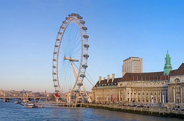 Лондон за два дні: Колесо огляду