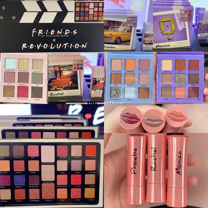 Friends х Revolution Beauty — колекція косметики