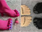 Обувь с раздельными пальцами: результат творения Balenciaga и Vibram