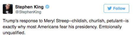 Дональд Трамп і Меріл Стріп