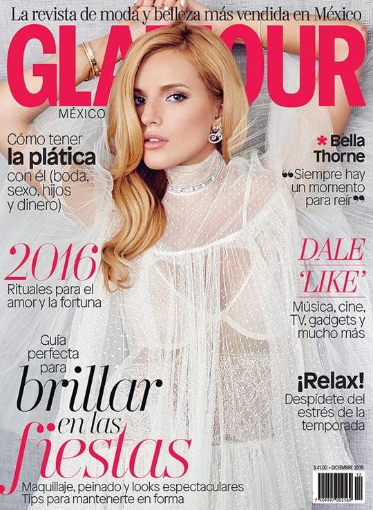 Белла Торн для Glamour Mexico