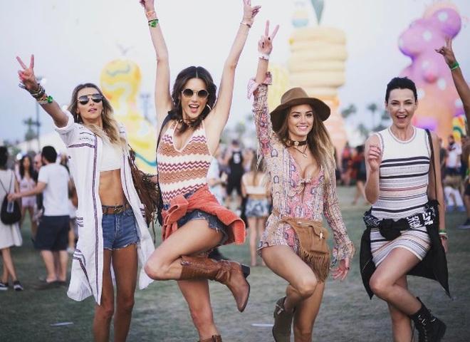 Бьюти-образы Coachella
