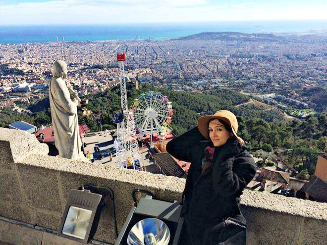 Ліна Верес про першу відпустку в Барселоні