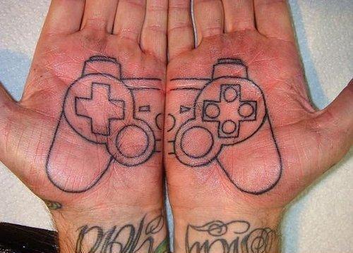Татуировки на руке - фото и эскизы тату надписи VK