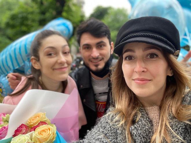 Виписка з пологового будинку: Аліна Мисечко, Макс Узол і Оля Манько