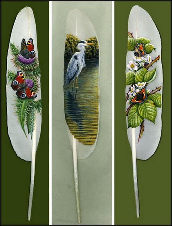 Шедевры на перьях