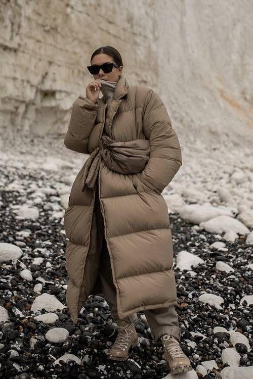 Как модно носить пальто зимой 2020/21