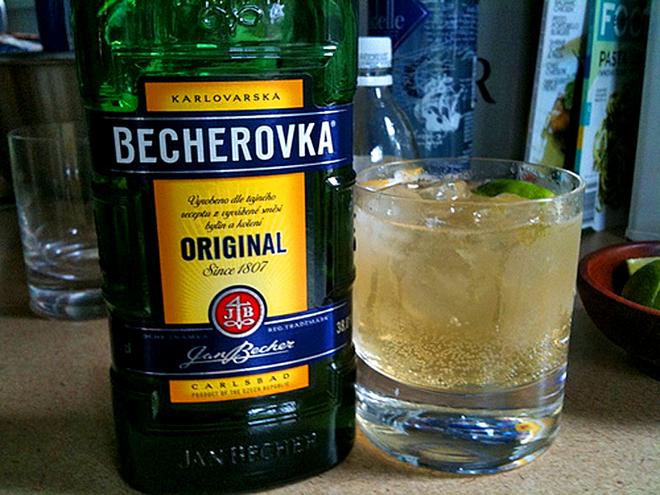 """Алкогольний напій """"Бехеровка"""""""