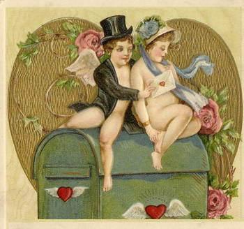 Романтичные валентинки на День Святого Валентина