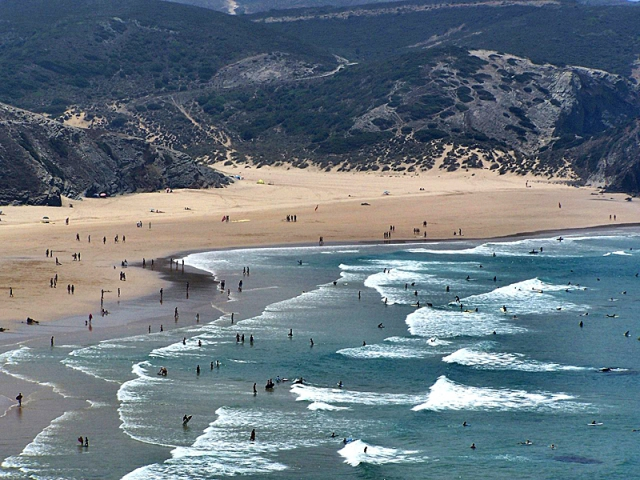 Пляжі Алгарве: Praia do Amado