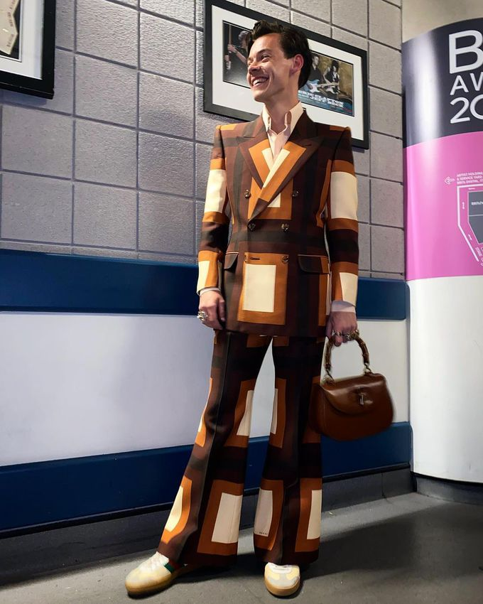 Гарри Стайлс на Brit Awards 2021