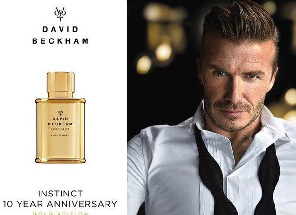 Девід Бекхем спільно з Coty створив новий чоловічий парфум