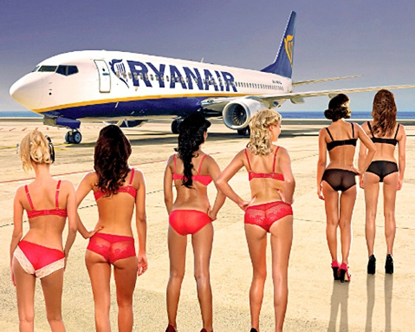 Найсексуальніші стюардеси: Ryanair