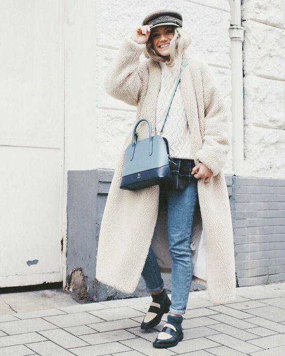 oversize пальто