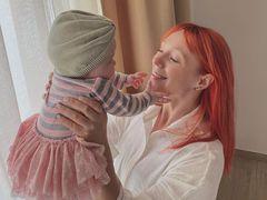 Світлана Тарабарова з донькою