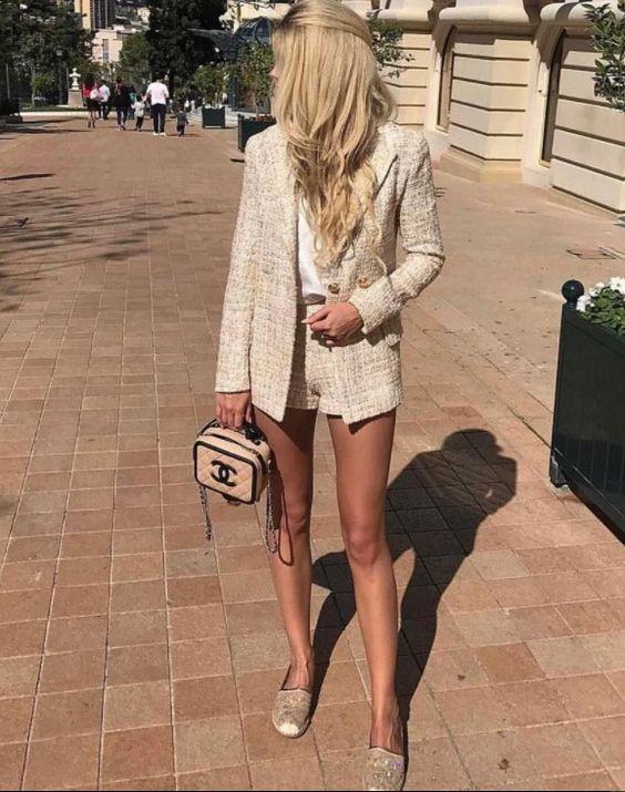 Твидовая одежда