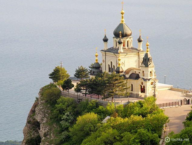 Церкви Украины: Воскресенская церковь (Форос)