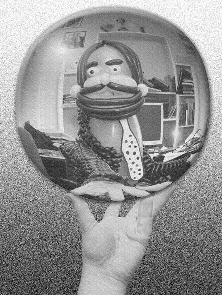 Мировый шедевры или шариковый арт
