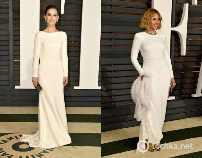 Оскар 2015: однакові сукні зірок колаж