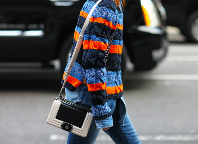 Модні светри 2016: street style