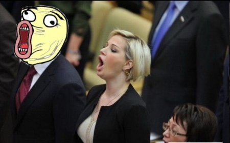 Мега карикатуры на политика блондинку