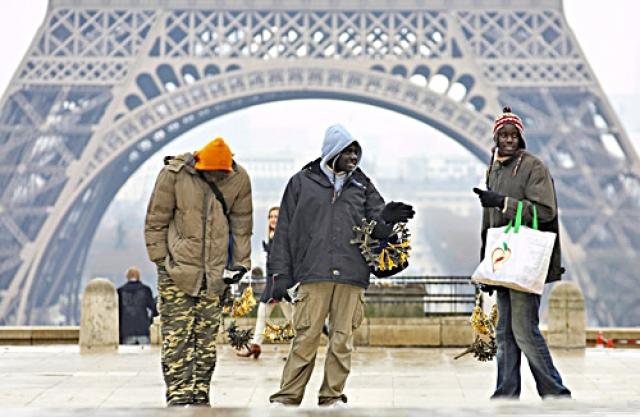 Як розводять туристів у Франції