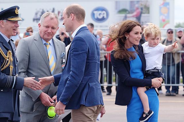 Принц Чарльз и принц Джордж