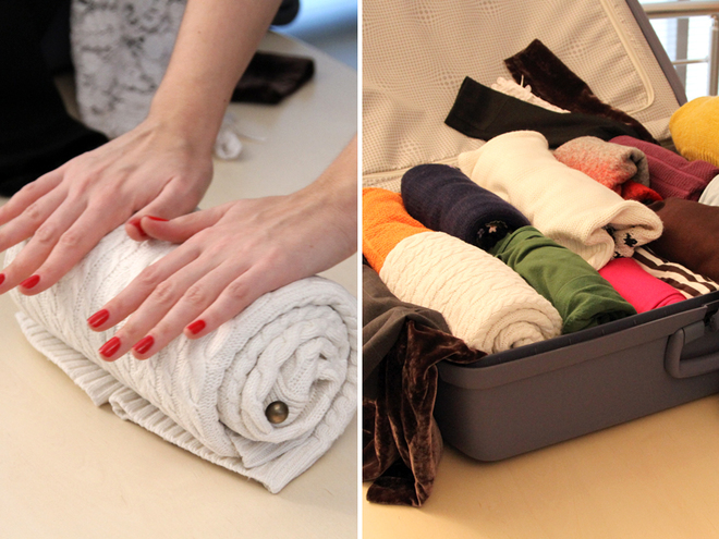 Как правильно складывать вещи в чемодан? Полезные советы