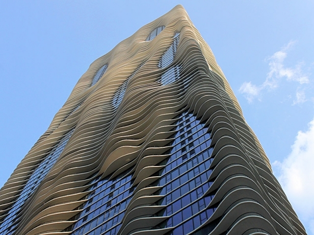 Aqua Tower - Чикаго, США