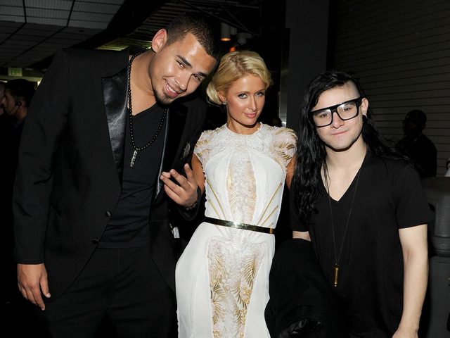 Grammy Backstage