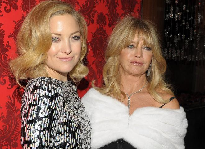 Голді Хоун і її дочка – акторка Кейт Хадсон