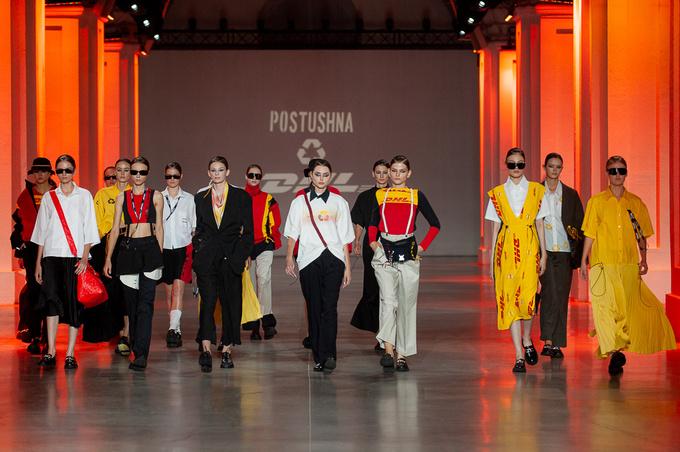 POSTUSHNA на Ukrainian Fashion Week noseason sept 2021