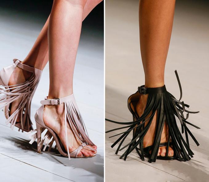Взуття з бахромою