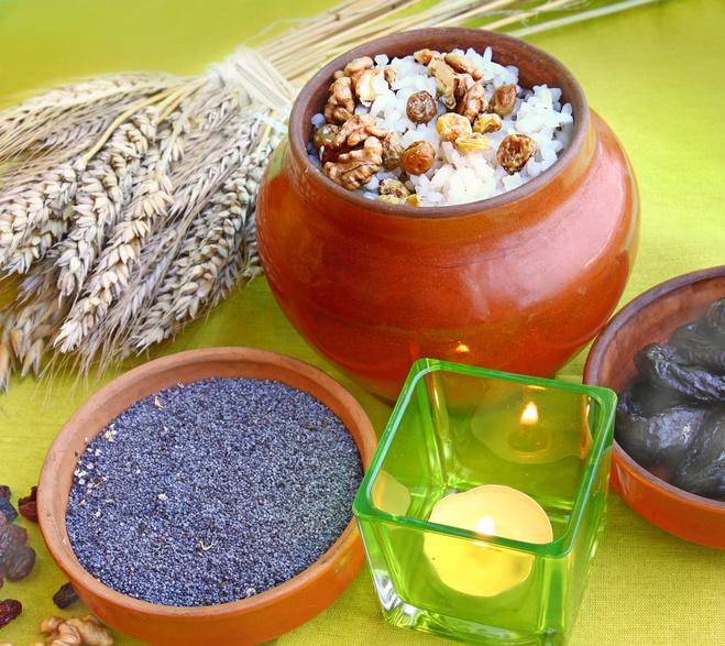 Водохресний святвечір: традиції та обряди, Кутя з рису