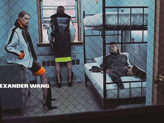 Alexander Wang рекламная кампания