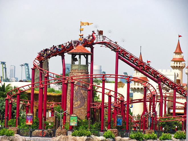 Лучшие парки развлечений в мире